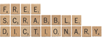 Free Scrabble Dictionary